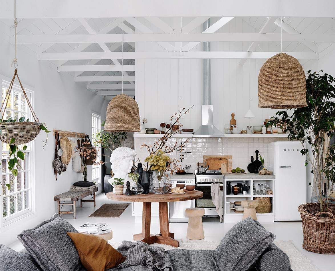 Lynda Gardener's new barn-style home in Daylesford, Australia