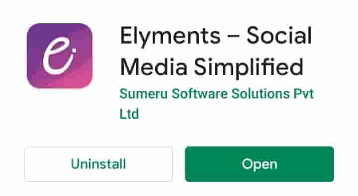 Download elyments app