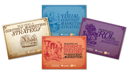 Collect the whole set of content marketing ebooks