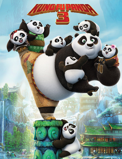 Poster Nou KUNG FU PANDA 3