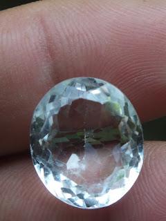 colorless quartz