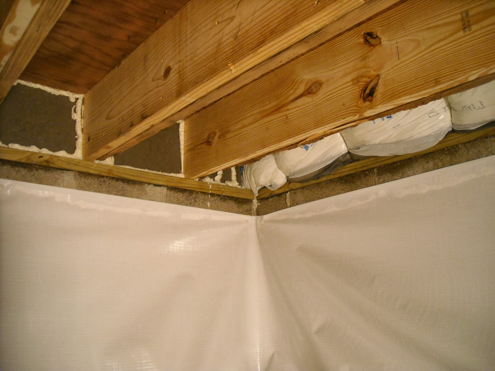Indiana Crawlspace Repair And Waterproofing Sill Plate