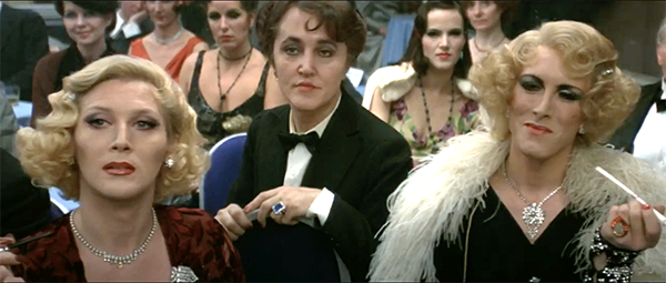 Femulators (and vice versa) in the 1982 film Victor/Victoria