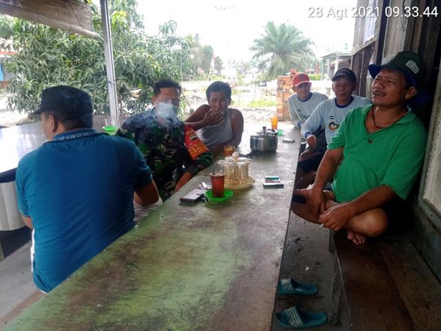 Dengan Komsos Cara Personel Jajaran Kodim 0208/Asahan Bina Silaturahmi Dengan Warga Binaan