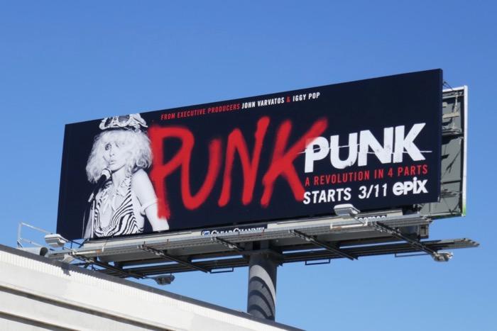 Punk Epix series billboard