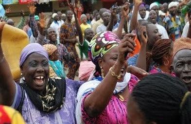 Jubilation As Smart Adeyemi's Supporters Flood Lokoja