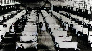 gudang yang menjadi tempat karantina flu spanyol