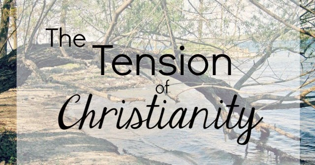 The Tension Of Christianity The Speckled Goat The