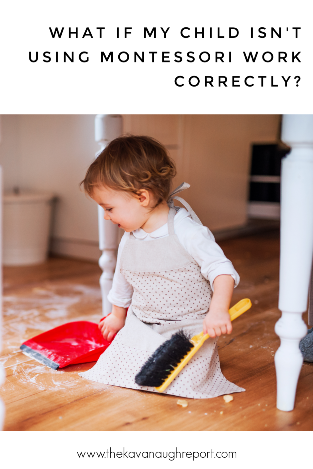 As a Montessori parent here are some thoughts to responding when your child doesn't use toys correctly. Instead of correction, we observe.