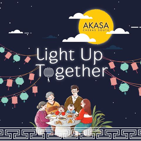 Light Up Together in AKASA Cheras South