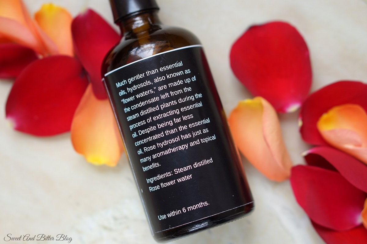 Blend it Raw Apothecary Rose Hydrosol Review