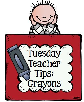 Crayon Management with Fern Smith's Classroom Ideas and Teach123, always including a FREEBIE for you!