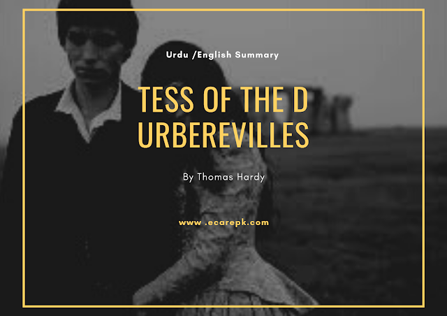 Tess of the d Urbervilles in English Urdu by Thomas Hardy: Summary, Themes, Characters, Analysis