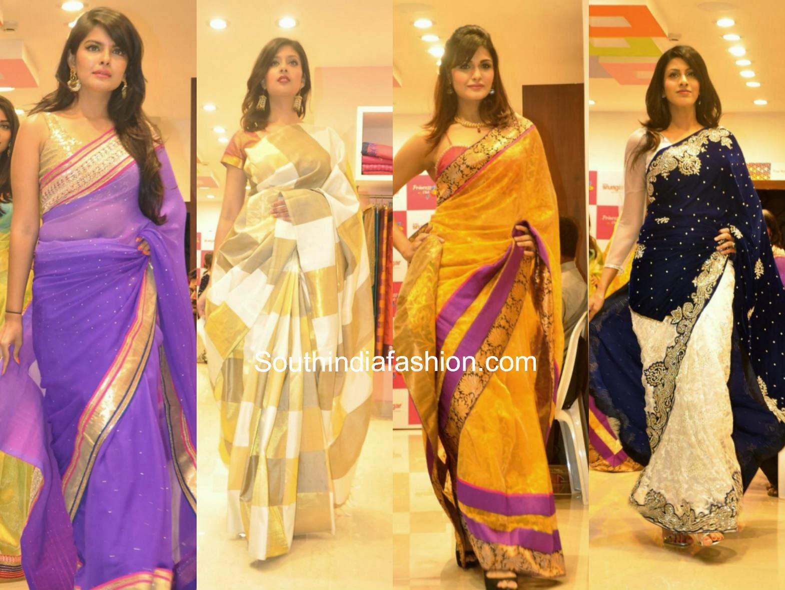 Sarees Sree Shrungar Fashion Show South India Fashion
