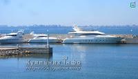 Яхта Сосновий Берег Одеса