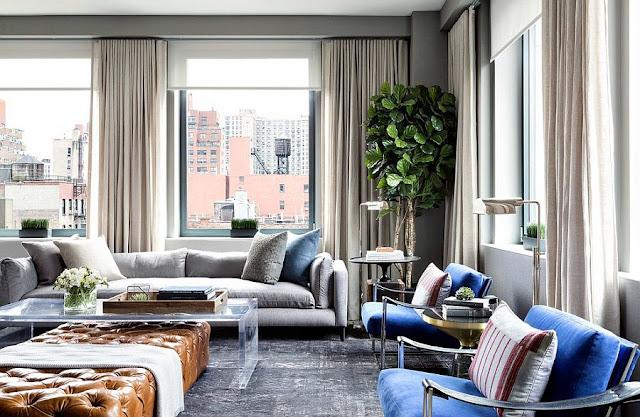 dekorasi ruang tamu tanpa sofa