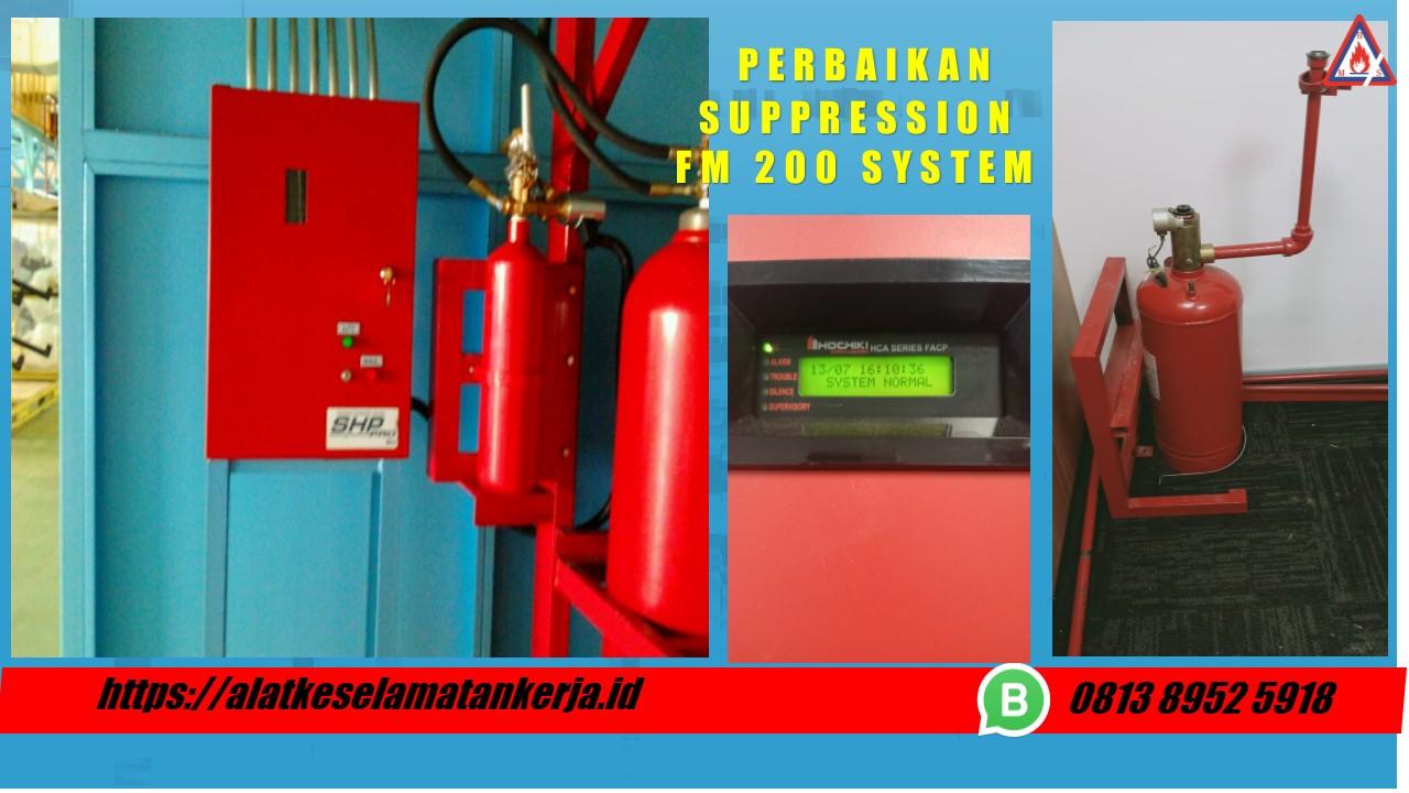suppression fm200, harga fm 200 fire suppression, fire suppression adalah, fm 200 fire suppression system indonesia, maintenance fm 200, komponen fire suppression system, fire suppression