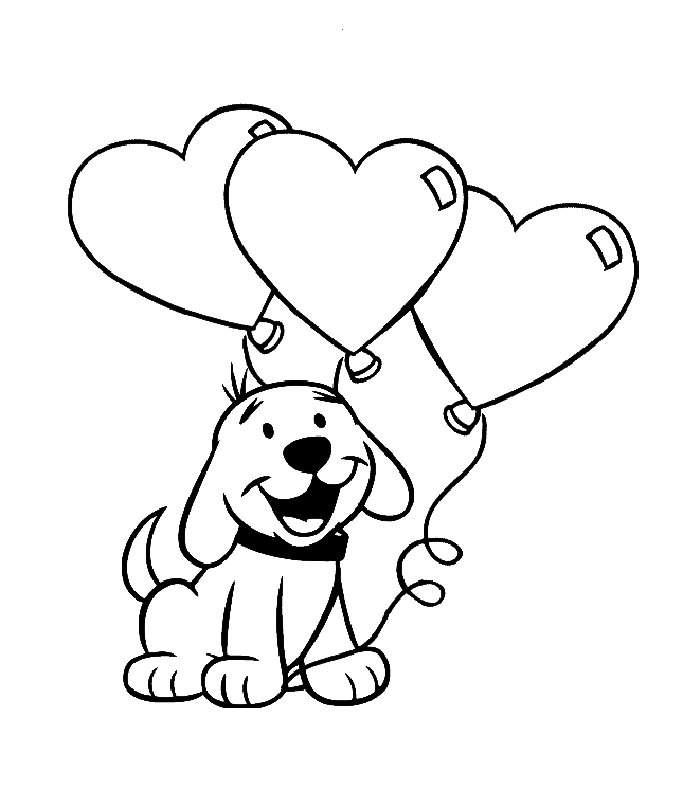 cartoon puppy coloring pages - photo#3