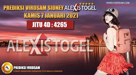 Prediksi Virdsam Sydney Kamis 07 Januari 2021