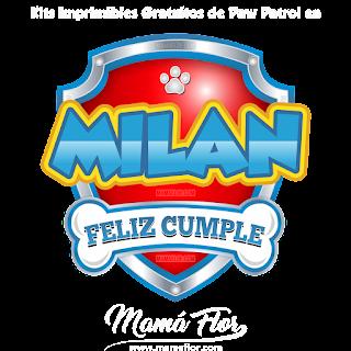 Logo de Paw Patrol: MILÁN