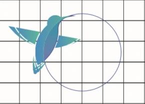 Free File : Cara Membuat logo Keren Humming Bird