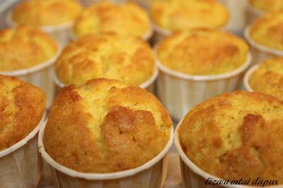 Resepi Muffin Jagung Kukus Sukatan Cawan
