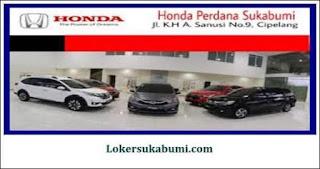Lowongan Kerja Honda Perdana Sukabumi Terbaru