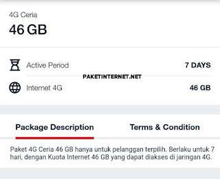 paket 4G ceria 46GB