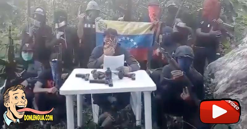 Grupos armados de la zona minera de El Callao le hacen una advertencia a Nicolás Maduro