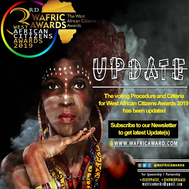 [Wafricawards]Steps to be followed in selecting your favourite nominees