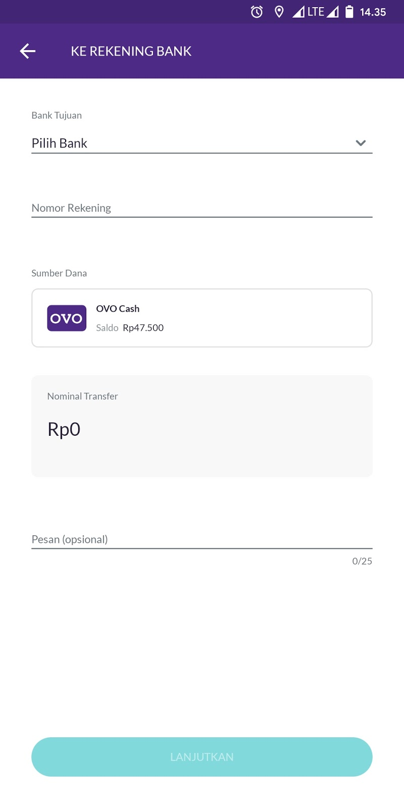 Easy Way To Withdraw Ovo Balance To Bank Account