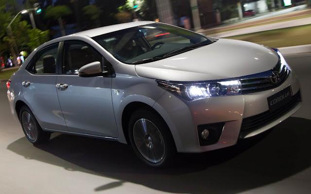 Toyota Corolla - aumento de preços - setembro de 2016