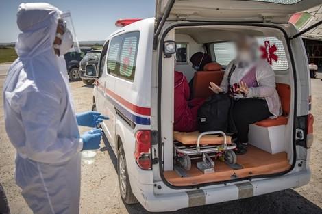 توزيع حالات الاصابات حسب الجهات - مساء الجمعة 26 يونيو 2020