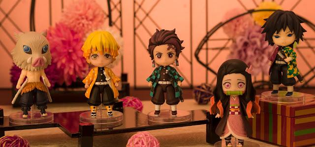 Figuras: Inosuke y Giyu se unen a la línea Figuarts Mini de Kimetsu no Yaiba - Tamashii Nations
