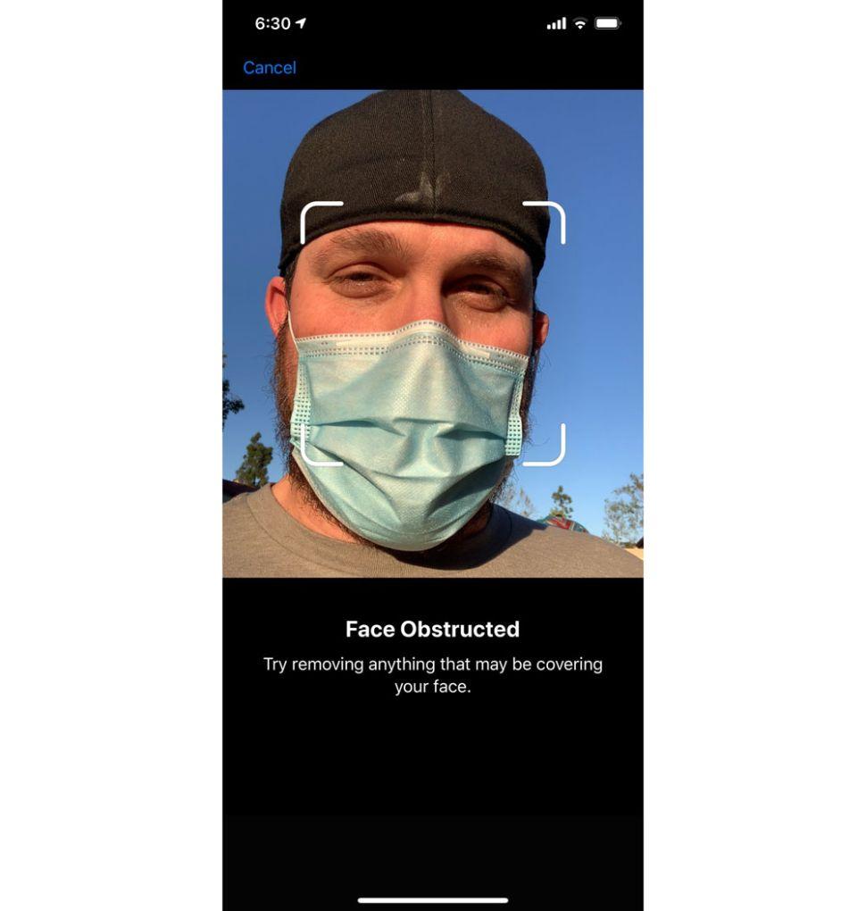 أبل تكشفت أخيرًا عن إصلاح مشكلة Face ID مع قناع الوجه أو الكمامة