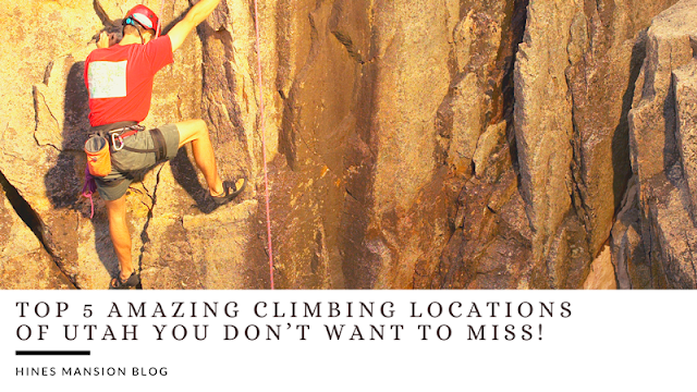 The Top 5 Amazing Climbing Locations in Utah You Don't Want to Miss! blog cover image