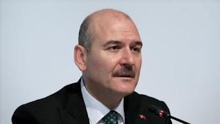 وزير الداخلية التركي يدعي جميع أبناء الشعب التركي إلى المشاركة في الحملة الخيرية لإنقاذ إدلب