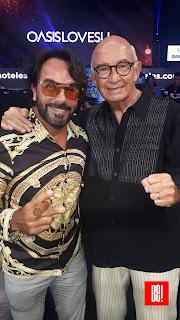 Pepe Gómez y Rubén Olmos.