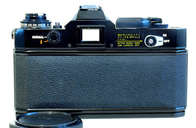 Canon EF, Back