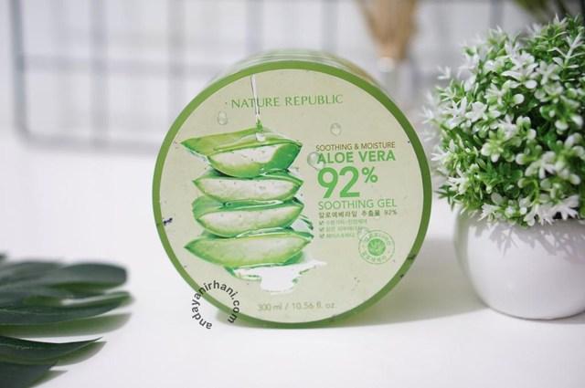 moisturizer aloe vera