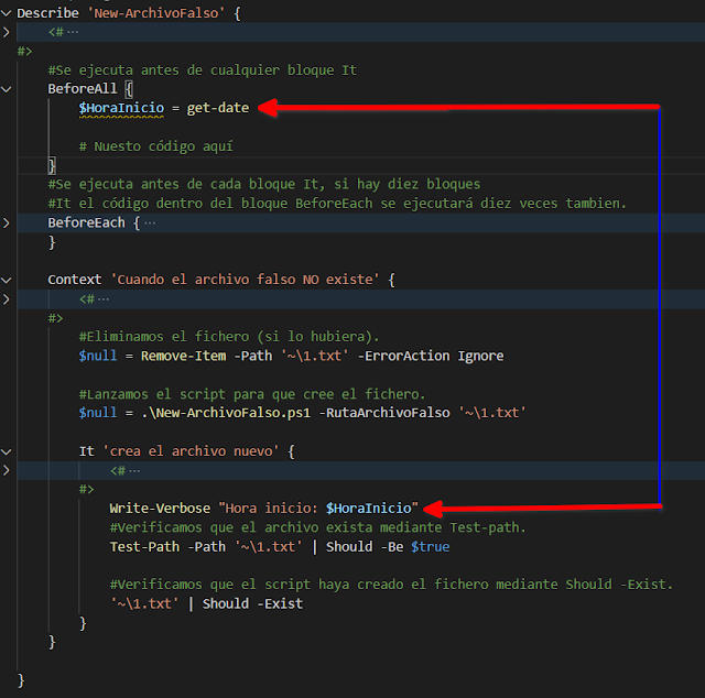 """PowerShell: Pester – Bloques """"Before"""" y """"After"""" (Parte 4)"""