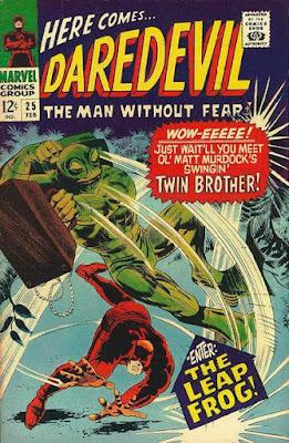 Daredevil #25, Leapfrog