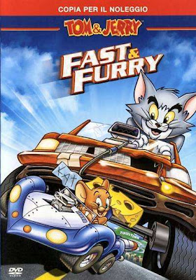 Tom y Jerry Rapidos y Furiosos DVDRip Español Latino