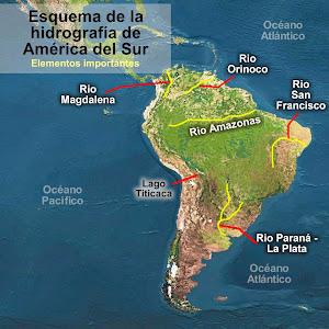 america, del norte, del sur, centroamerica, sudamerica, norteamerica, mississipi, orinoco, amazonas, amazonia, chaco, volcan, andes, rocosas, rocallosas, apalaches, sierra, titicaca, magdalena. yuk