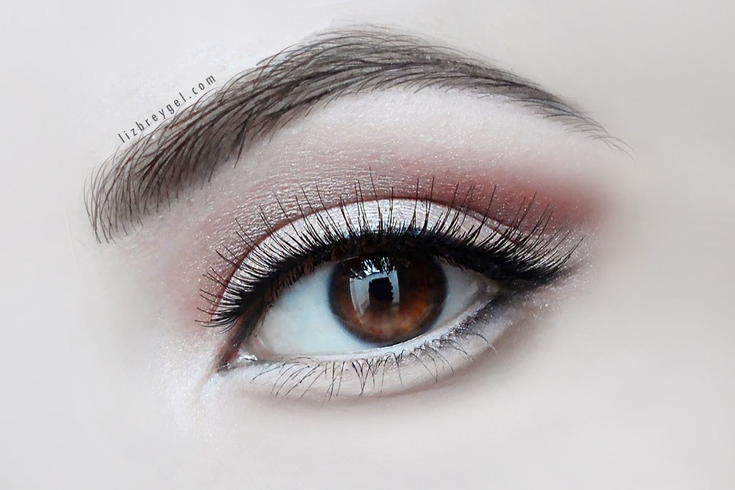 Innocent & Cute Eyes | Tear Bag Eye Makeup by Liz Breygel on Janaury Girl blog