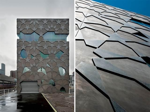 north elevation dan facade detail