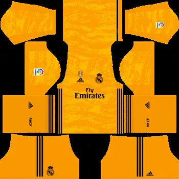 Download Kit DLS Real Madrid GoalKeeper Home 2019 - 2020
