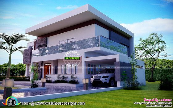 Kerala home design and floor plans contemporary home in for Modern house design kenya