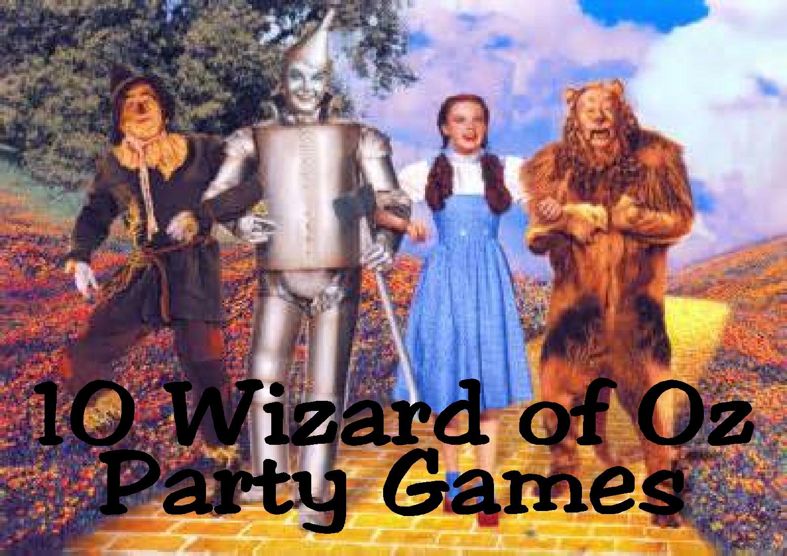 Kisses Free Printable 10 Wizard Of Oz Game Ideas