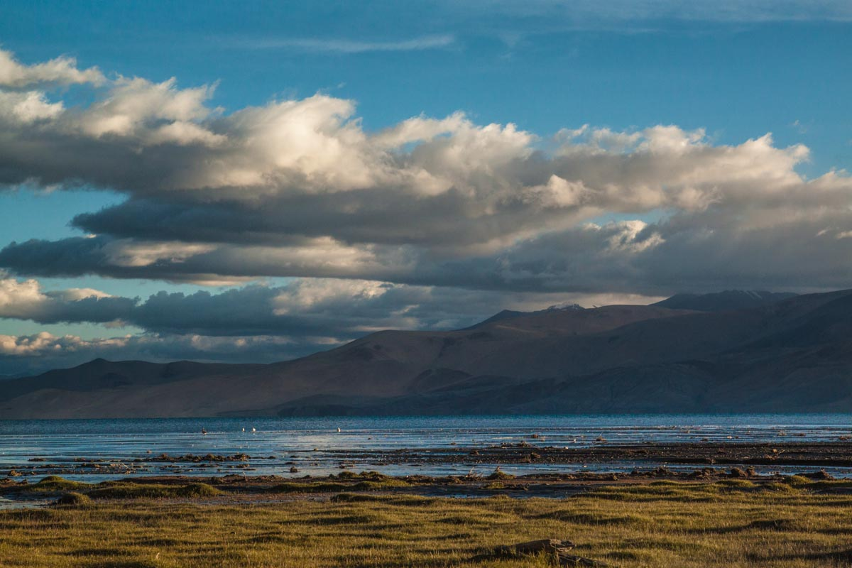 Tso Moriri, a Ramsar Wetland Conservation Region in Ladakh